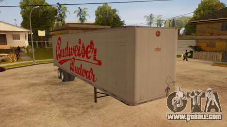 All-metal trailer for GTA San Andreas right view