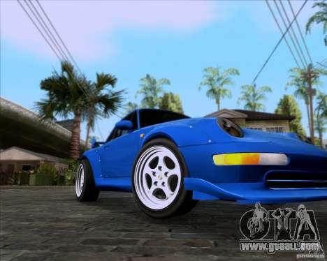 Porsche 911 GT2 RWB Dubai SIG EDTN 1995 for GTA San Andreas left view