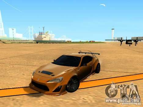 Toyota FT86 Rocket Bunny V2 for GTA San Andreas side view