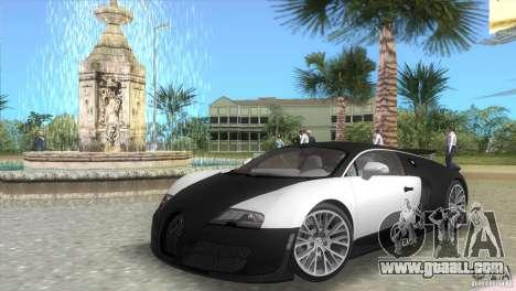 Bugatti ExtremeVeyron for GTA Vice City