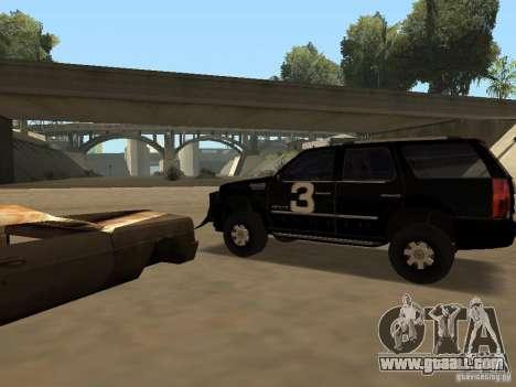 Cadillac Escalade Tallahassee for GTA San Andreas right view
