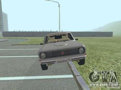 GAZ 24-10 Volga for GTA San Andreas back left view