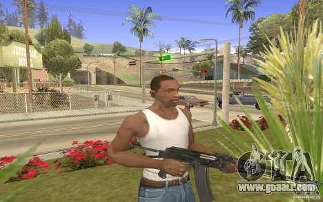 AK 101 for GTA San Andreas third screenshot