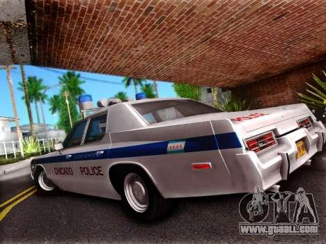 Dodge Monaco 1974 for GTA San Andreas left view