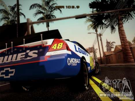 Chevrolet Impala SS Nascar Nr.48 for GTA San Andreas left view