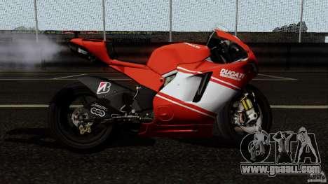 Ducati Desmosedici RR for GTA San Andreas left view