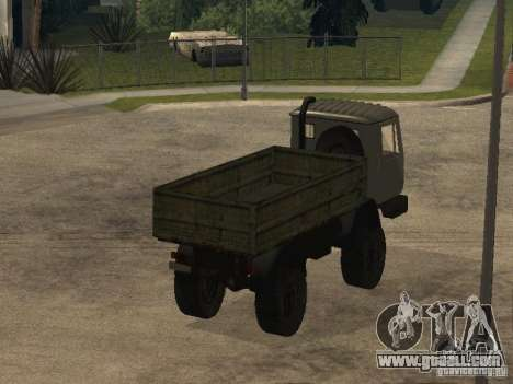 KAZ 4540 dump truck for GTA San Andreas right view