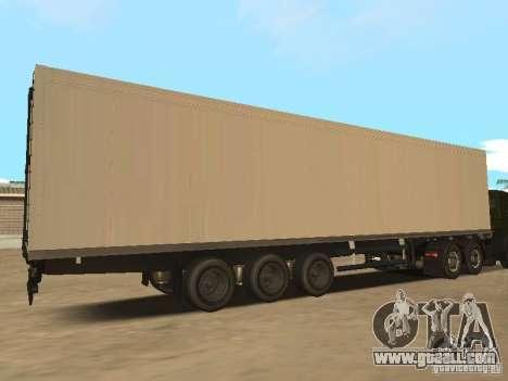 Nefaz 93344 trailer for GTA San Andreas left view