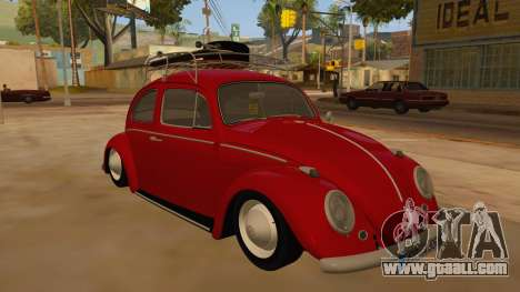 VW Beetle 1966 for GTA San Andreas back view