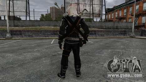 Geralt of Rivia v8 for GTA 4 third screenshot