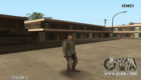 Army Skin Pack for GTA San Andreas