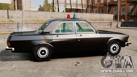 Gaz-3102 FBI for GTA 4 left view