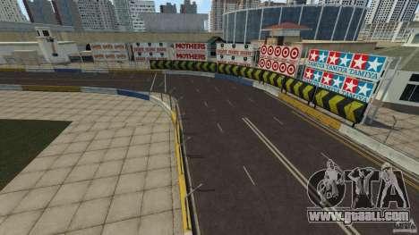 Long Beach Circuit [Beta] for GTA 4 third screenshot