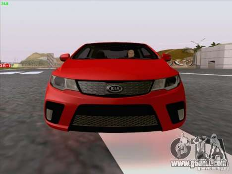 Kia Cerato Coupe 2011 for GTA San Andreas interior
