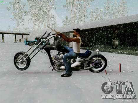 Harley for GTA San Andreas left view