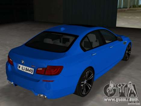 BMW M5 F10 2012 for GTA Vice City right view