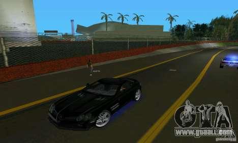 Mercedes-Benz SLR McLaren 722 Black Revel for GTA Vice City