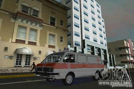 RAF-22031 Ambulance for GTA Vice City left view