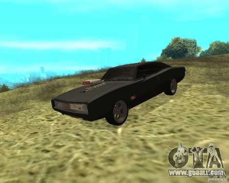 Dodge Charger R/T 1970 for GTA San Andreas