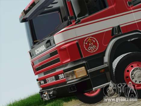Scania 94D-260 Corpo Bombeiros SP for GTA San Andreas engine