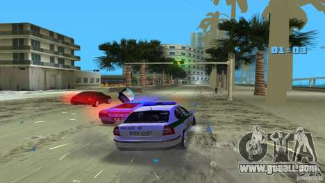 Skoda Octavia 2005 for GTA Vice City side view