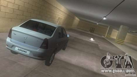 Dacia Logan for GTA Vice City inner view