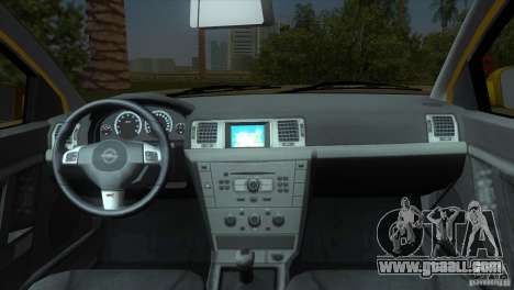 Opel Vectra for GTA Vice City back view