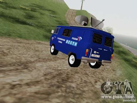 UAZ-3741 To for GTA San Andreas back left view