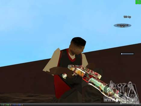 Graffiti Gun Pack for GTA San Andreas