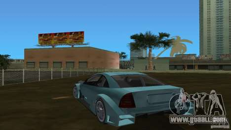 Opel Astra DTM for GTA Vice City right view