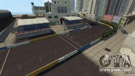 Long Beach Circuit [Beta] for GTA 4 eighth screenshot