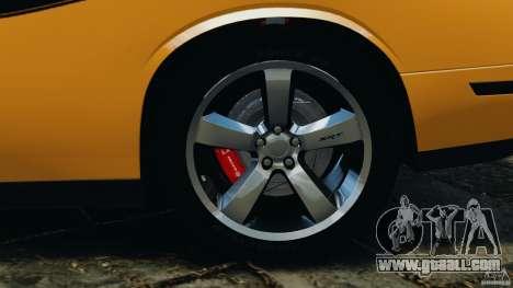 Dodge Challenger SRT8 392 2012 [EPM] for GTA 4 interior
