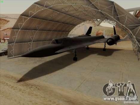 YF-12A for GTA San Andreas