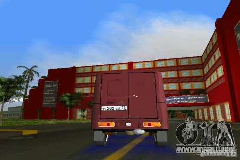 IZH 2715 for GTA Vice City inner view