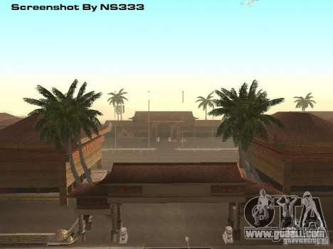 New Chinatown for GTA San Andreas
