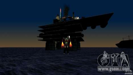Oil platform in Los Santos for GTA San Andreas forth screenshot