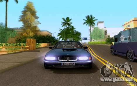 BMW 730i E38 FBI for GTA San Andreas back view