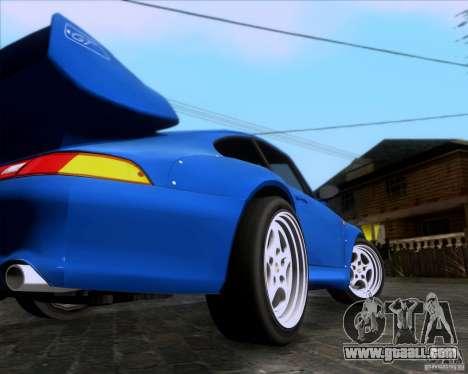 Porsche 911 GT2 RWB Dubai SIG EDTN 1995 for GTA San Andreas right view