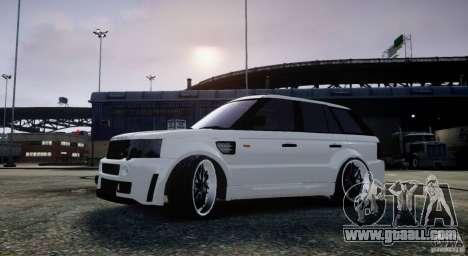 Range Rover Sport RR SCHEARZ for GTA 4 left view