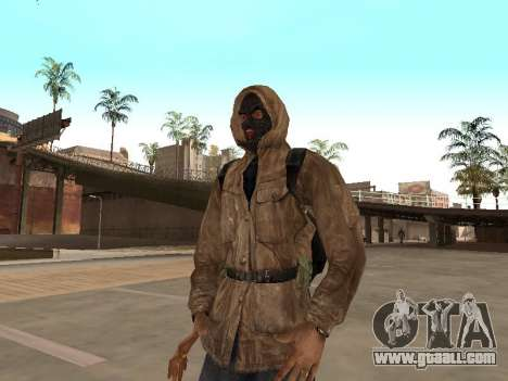 A large Pack of free stalkers for GTA San Andreas tenth screenshot
