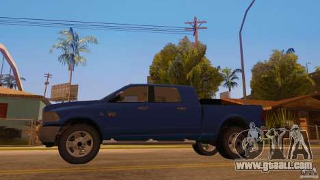 Dodge Ram 2500 HD 2012 for GTA San Andreas back left view