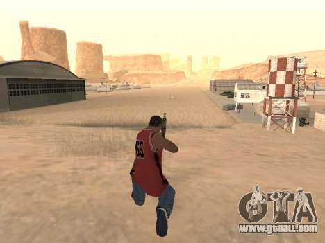 MP5K for GTA San Andreas forth screenshot
