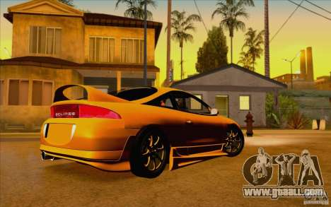 Mitsubishi Eclipse GSX Mk.II 1999 for GTA San Andreas