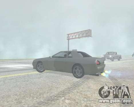 The blur off when using Nitro for GTA San Andreas forth screenshot