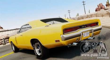 Dodge Charger RT-SE 440 Magnum 1970 EPM v1.1 for GTA 4 left view