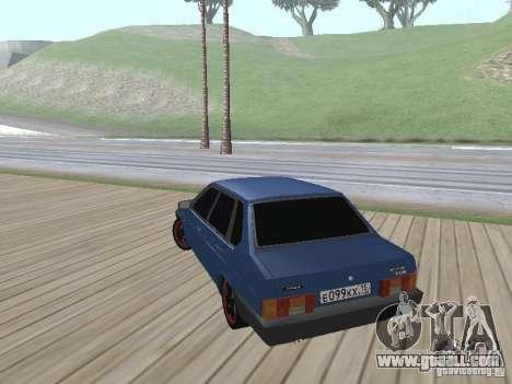 VAZ 21099 v2 for GTA San Andreas left view