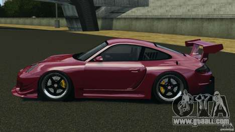 Porsche 997 GT2 Body Kit 2 for GTA 4 left view