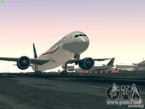 Boeing 787-8 Dreamliner AeroMexico for GTA San Andreas