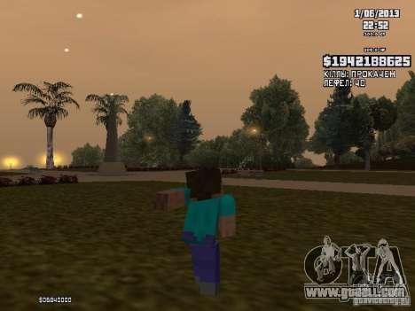 Steve for GTA San Andreas third screenshot