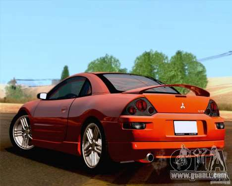 Mitsubishi Eclipse GTS 2003 for GTA San Andreas back view